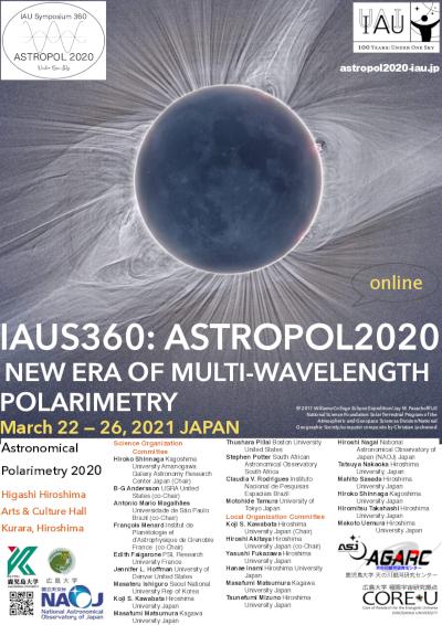 IAUS350 ASTROPOL2020